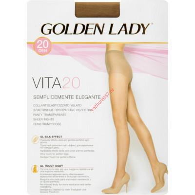 Колготки Golden Lady 20 загар